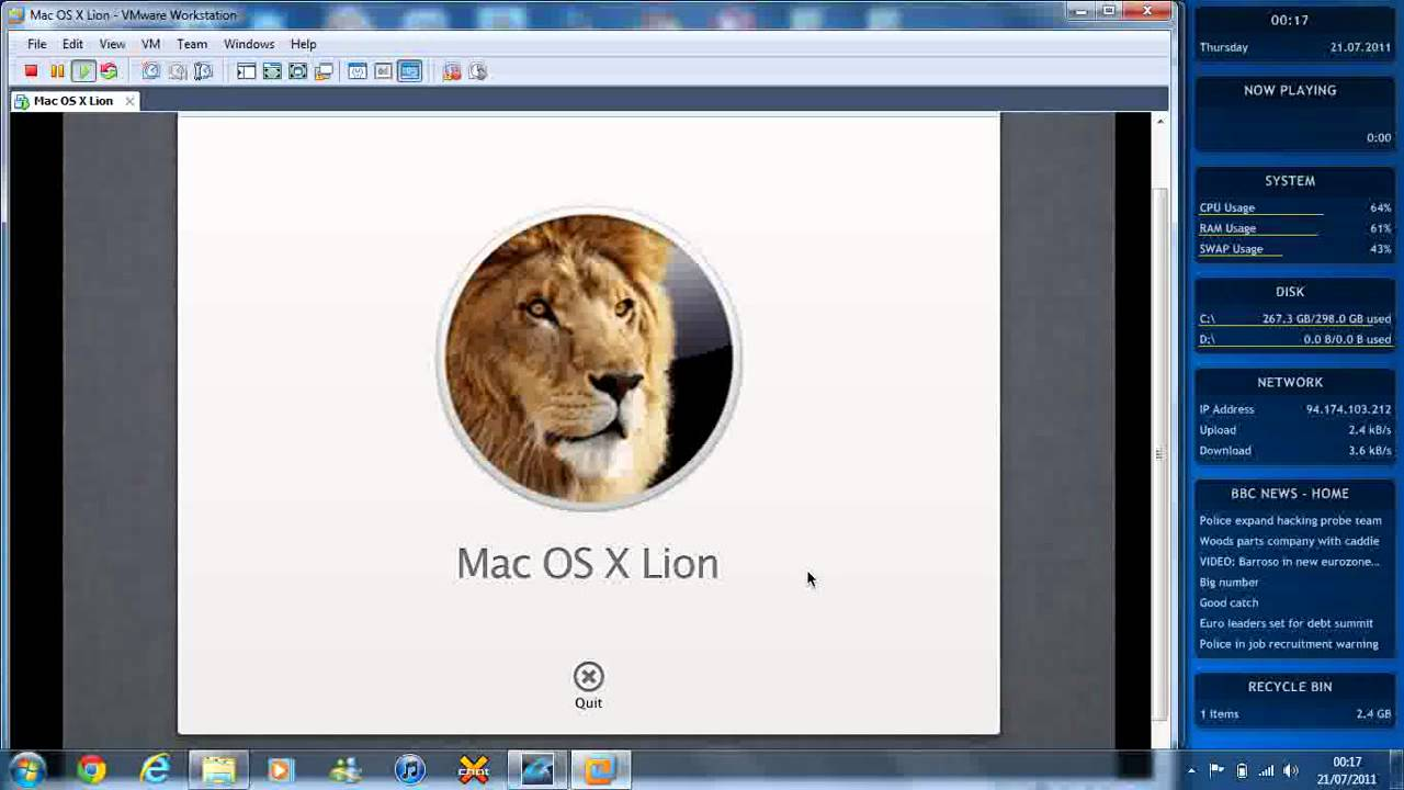 Mac Os X 10.7 (lion Installation Files .iso Download